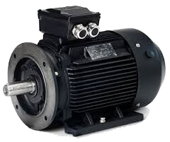 Assembled electric motor