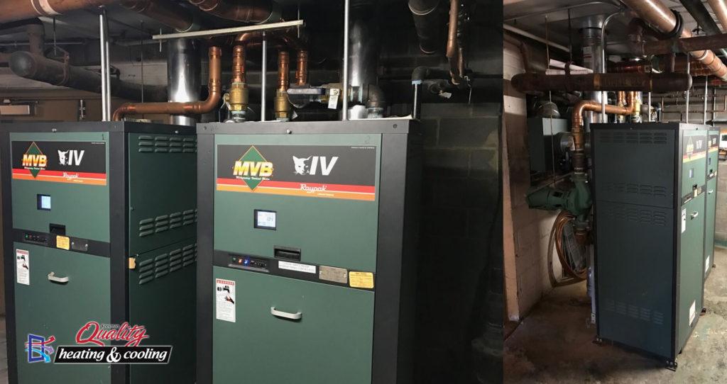 Commercial Boiler Install