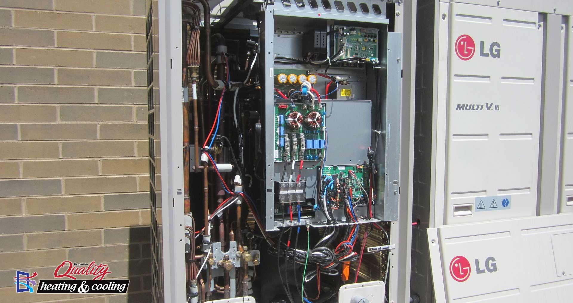 Variable Refrigerant Flow (VRF)